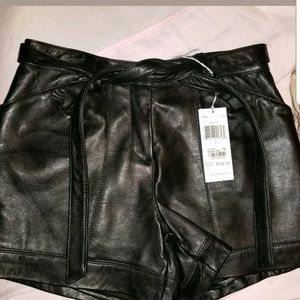 Walter baker Genuine Leather shorts new size 2